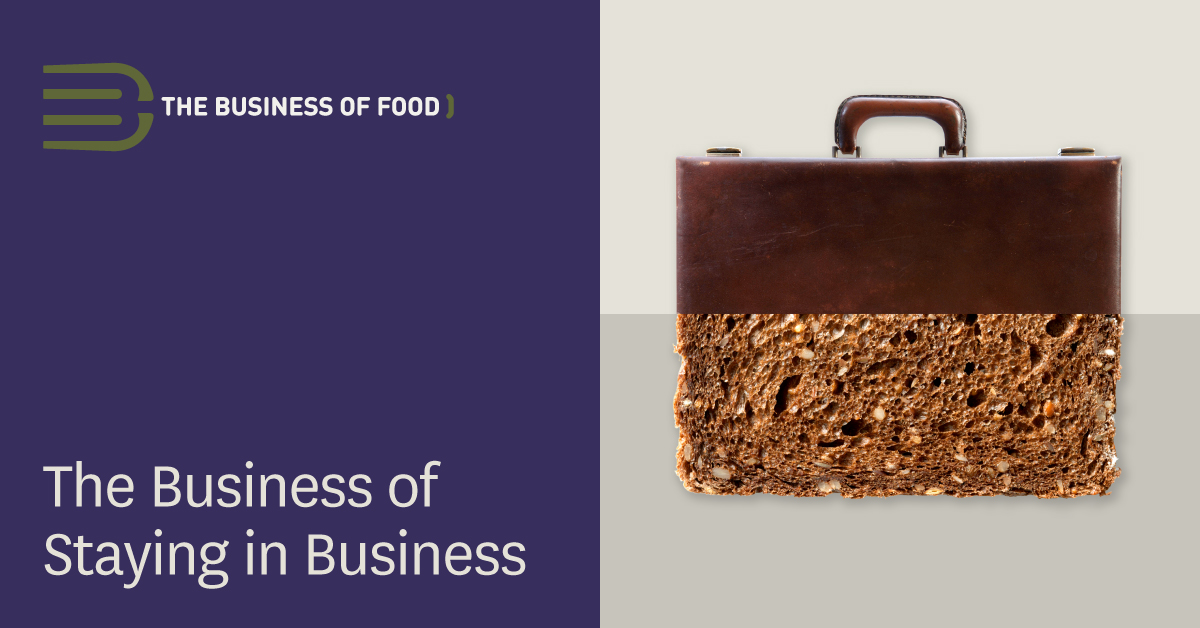 The Business of Staying in The Restaurant Business  provided by NOTS.ie