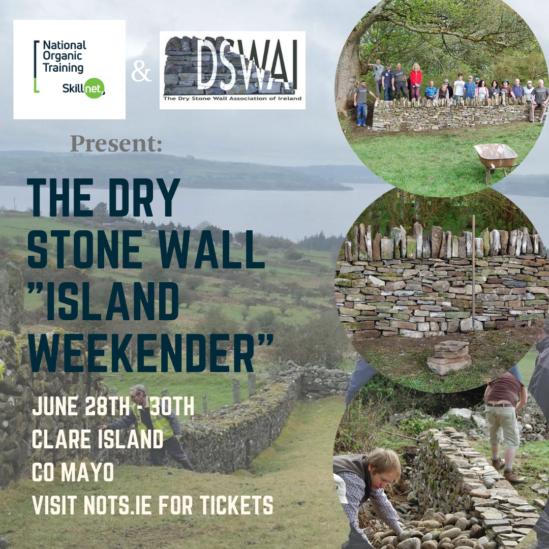 "Dry Stone Wall ""Island Weekender""  provided by NOTS.ie"
