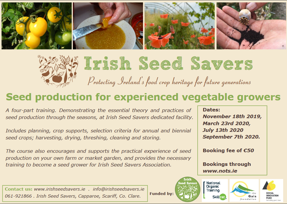 ISSA Seed to Seed 1 Yr Programme  provided by NOTS.ie